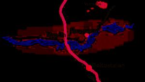 Kart til Haugseter Fjellstue
